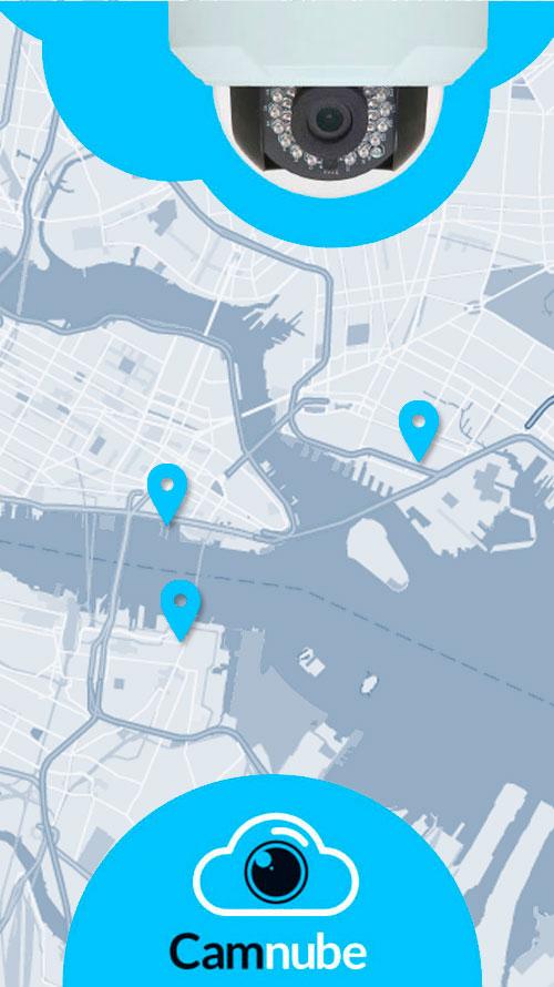 Ubicación de Cámaras (Mapas)